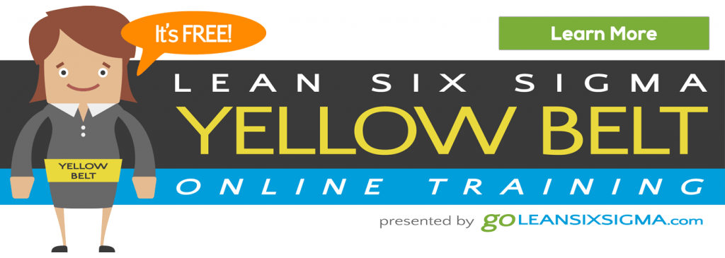 Free Online Lean Six Sigma Yellow Belt Training